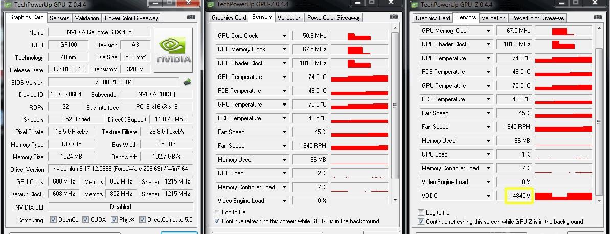GPU-Z - скачать бесплатно
