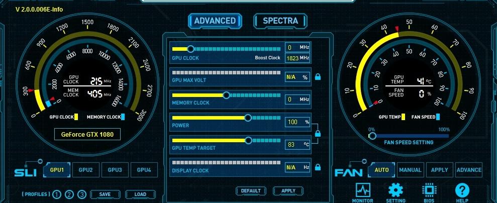 Программы для разгона видеокарты NVIDIA